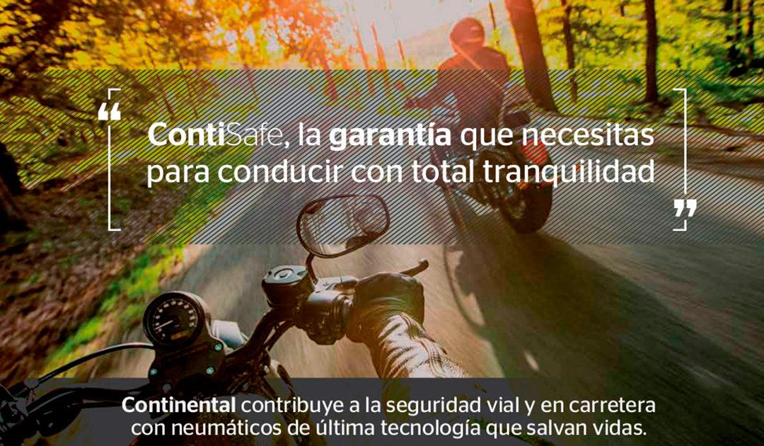 ContiSafe el nuevo seguro para neumáticos Continental