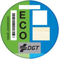 pegatina DGT vehiculos eco