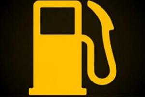 testigo de reserva de combustible